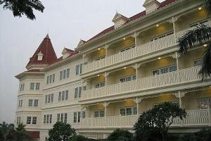 裝修華麗的香港迪士尼樂園酒店。