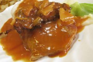 串燒豬扒飯