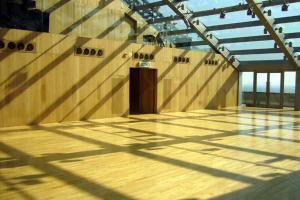 金字塔式的玻璃屋頂, 對著鏡子, 窺探「真我」。