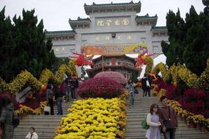 每年冬季圓玄學院都會舉行「菊花展覽」,對上一次剛於 1 月 3 日結束。