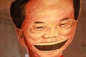 JCCAC 不時舉辦不同展覽,此為「粵港聯展」作品之一。(關璇攝)
