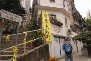 掛滿了黃色絲帶的街頭,埋藏了不少保育心聲。