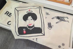 女王頭Tote Bag