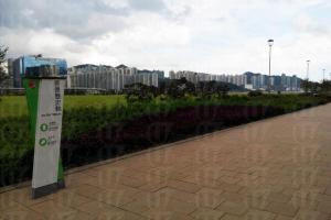 啟德機場使用過的「13跑道」和「31跑道」都在公園成為新標記
