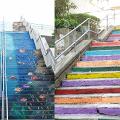 【復活節好去處2019】6大樓梯壁畫影相位逐個睇 海底世界/彩虹/異國風情主題!