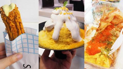 旺角掃街7大新星 外脆內凍榴槤奶脆棒+芒果糯米飯刨冰