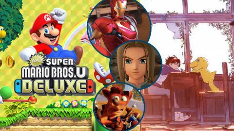 2019年10大Switch新遊戲推介 Super Mario Bros./數碼暴龍/Marvel/勇者鬥惡龍