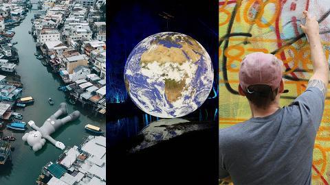 10大香港藝術月展覽推介!Art Central/ Art Basel/巨型地球/KAWS/街頭藝術節