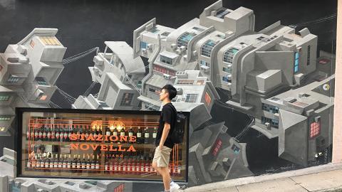 【中環好去處】中上環壁畫街熱門打卡點朝聖! 舊香港/異國酒吧/李小龍壁畫