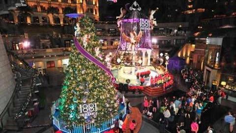 先睇先享受 全港五大必影聖誕裝飾