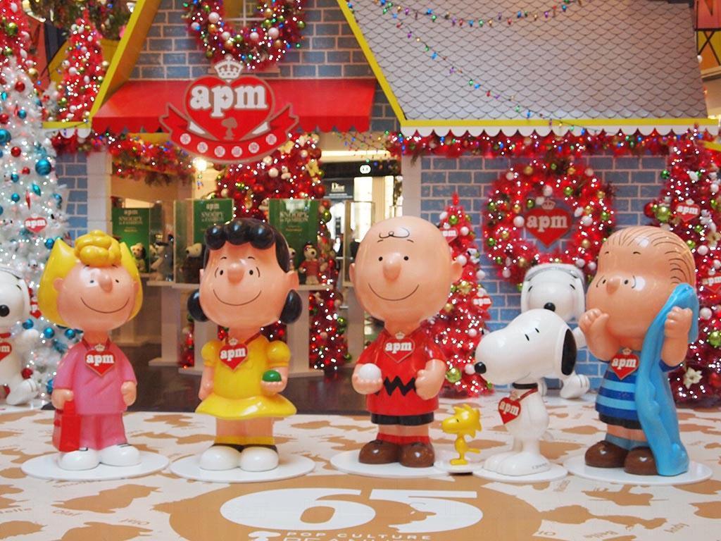 apm x Snoopy「《花生漫畫》65周年夢幻聖誕」