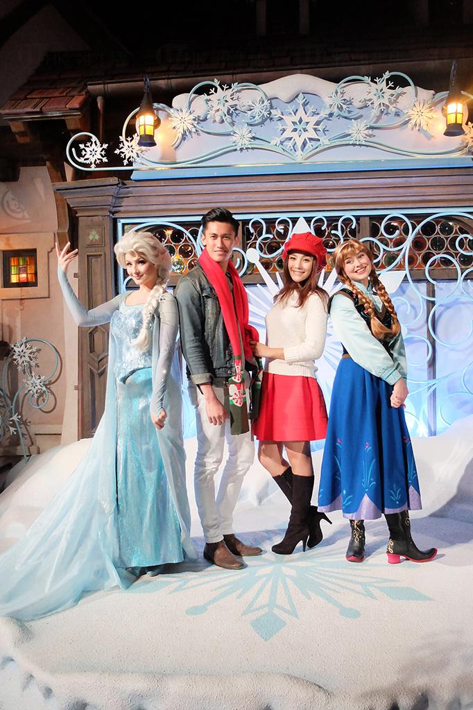 迪士尼雪亮聖誕 魔雪奇緣主角駕臨