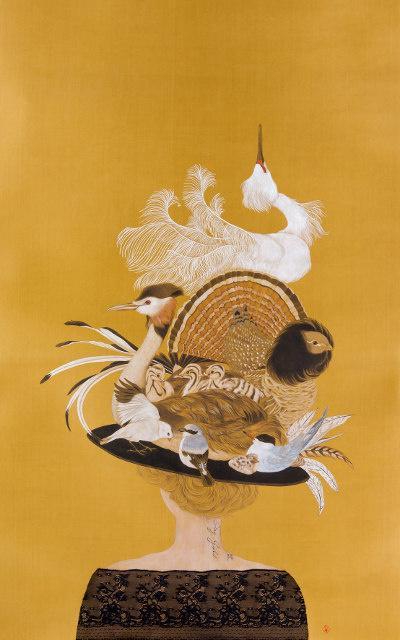 捕鳥人 張惠文個人展覽