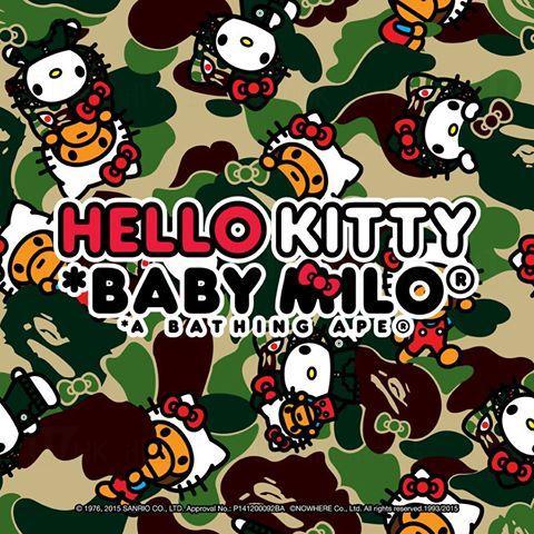 A BATHING APE x Hello Kitty 2015年別注聯乘系列