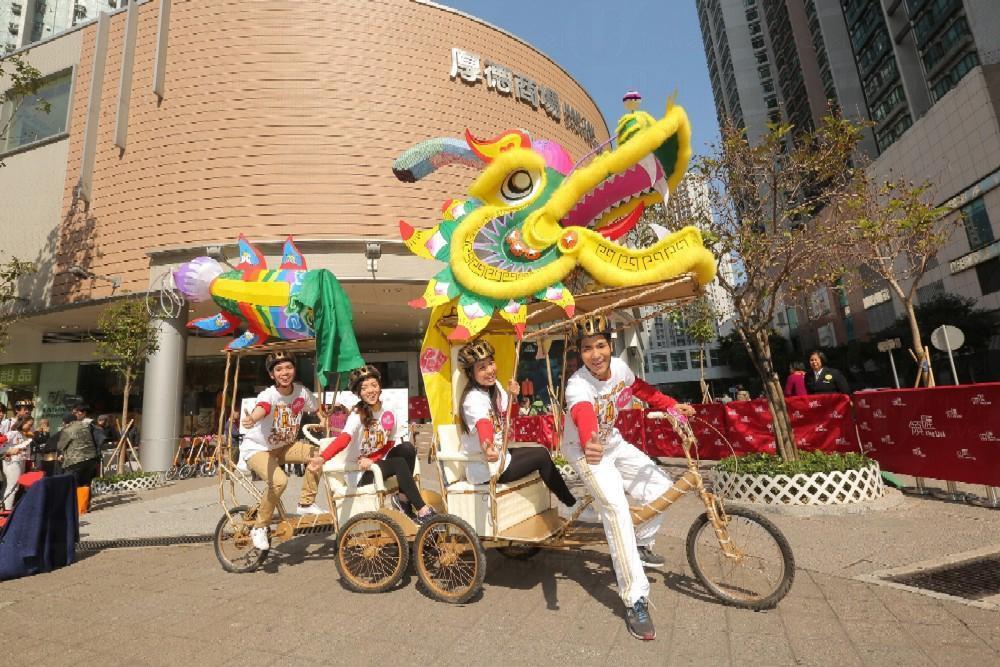 領匯環保單車舞火龍