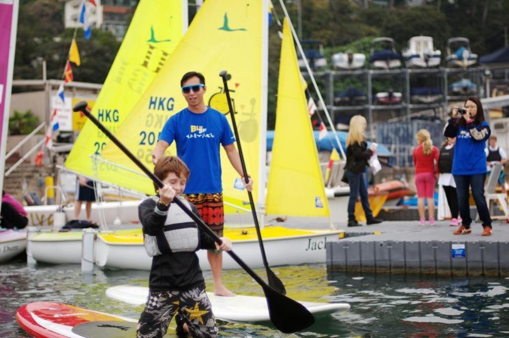 白沙灣遊艇會 SLAM航海訓練中心公眾開放日