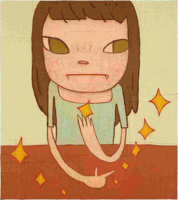 奈良美智最新作品《星星》系列 中環畫廊展出