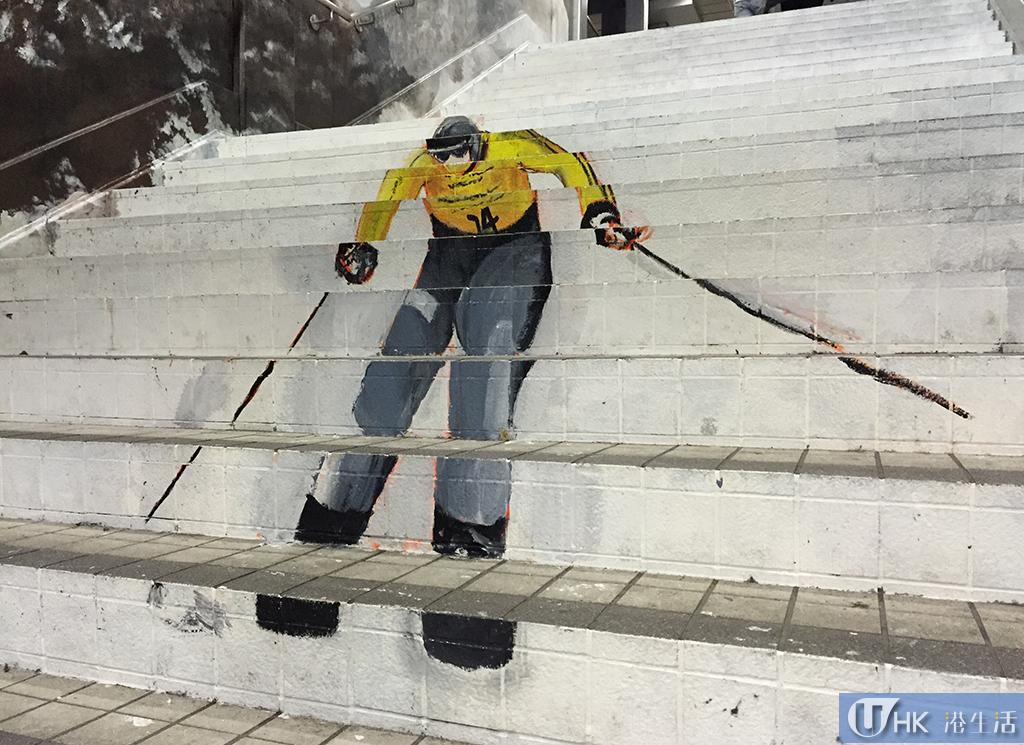 中上環壁畫街外 荃灣再發現油畫樓梯