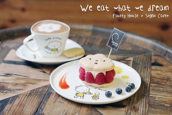 期間限定!「Sogno cafe+ x Fluffy House」 Pop up Cafe