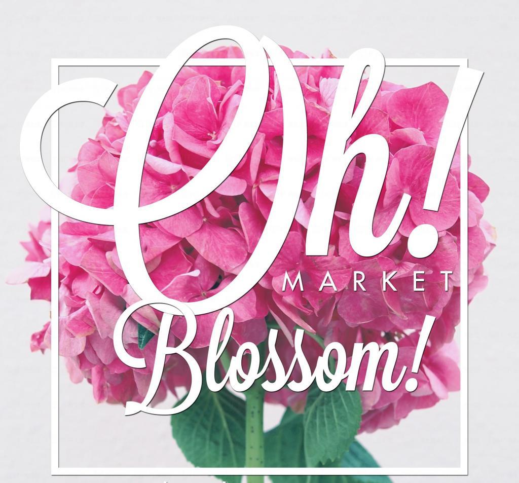 Market Oh!「Oh! Blossom!」市集 逾60個特式小檔