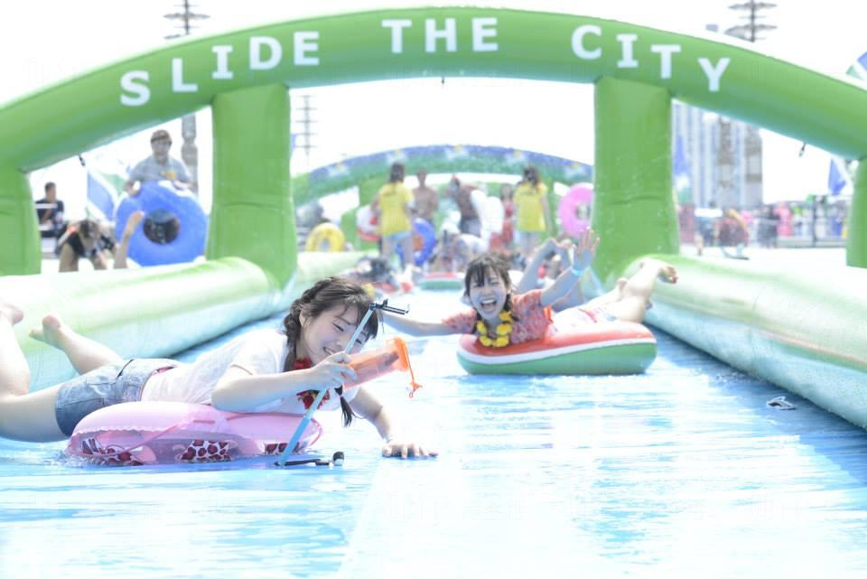 Slide the City Hong Kong 夏天瀡到香港
