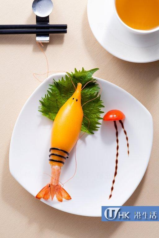 晉薈午市賣萌 海洋系列可愛大蝦、海馬造型點心