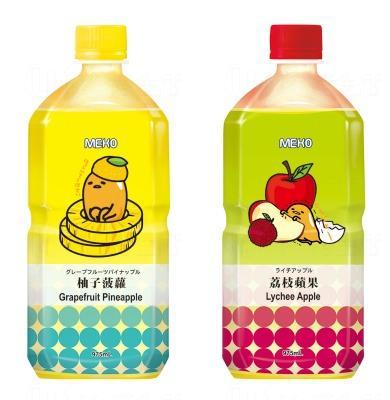 超萌Meko x蛋黃哥果汁  6.19有得賣