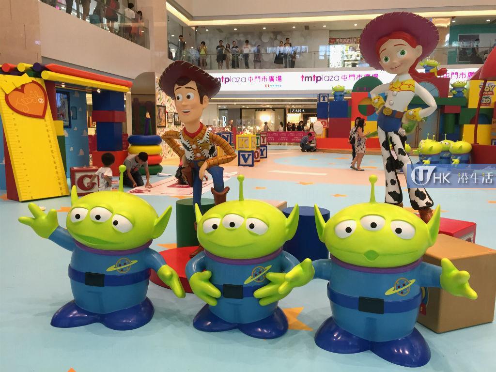 反斗奇兵20週年玩具派對 設3D體驗區