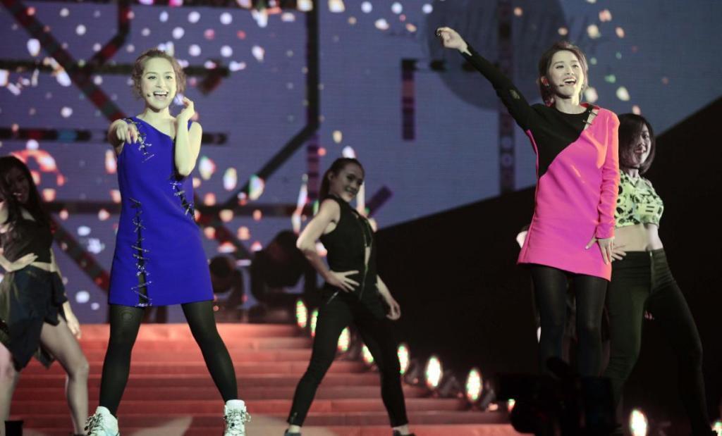英皇娛樂十五週年和華麗有約澳門演唱會