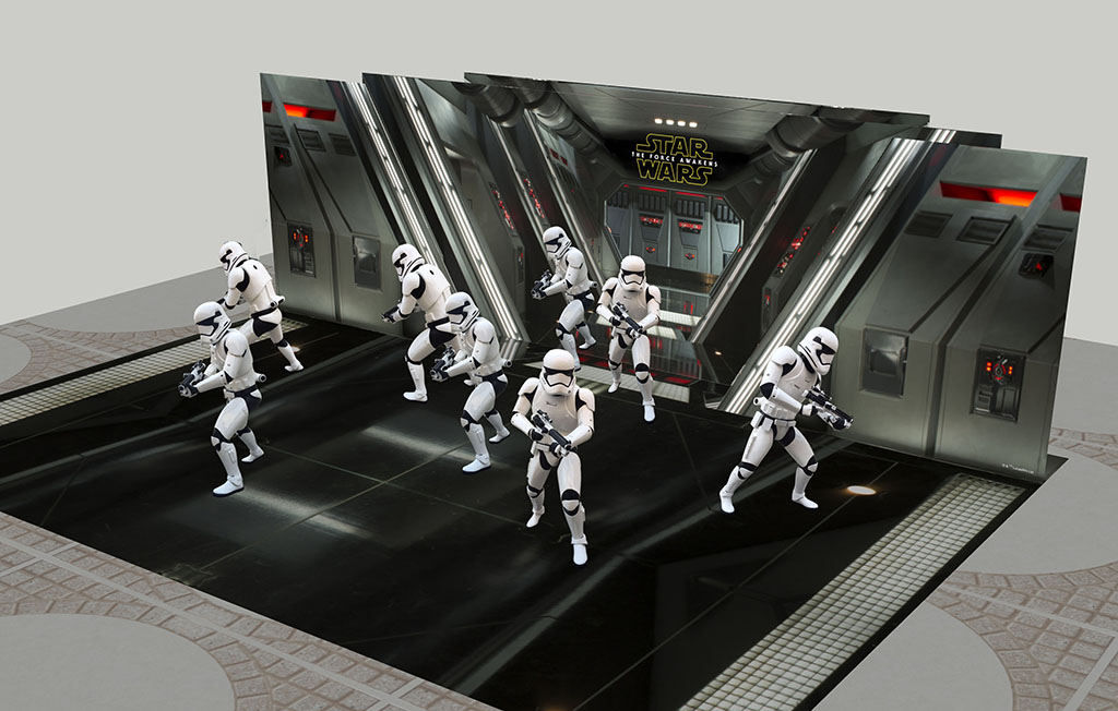 銅鑼灣《星球大戰》展覽 8位白兵列陣
