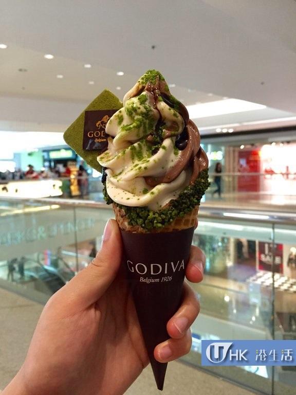 即日推出 Godiva限定抹茶朱古力軟雪糕