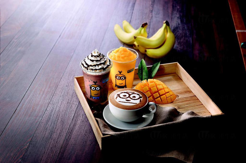 Minions攻陷麥當勞 迷你兵團漢堡及多款cute爆食品
