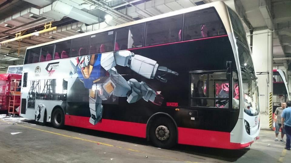 超型!機動戰士高達巴士 穿梭港九新界