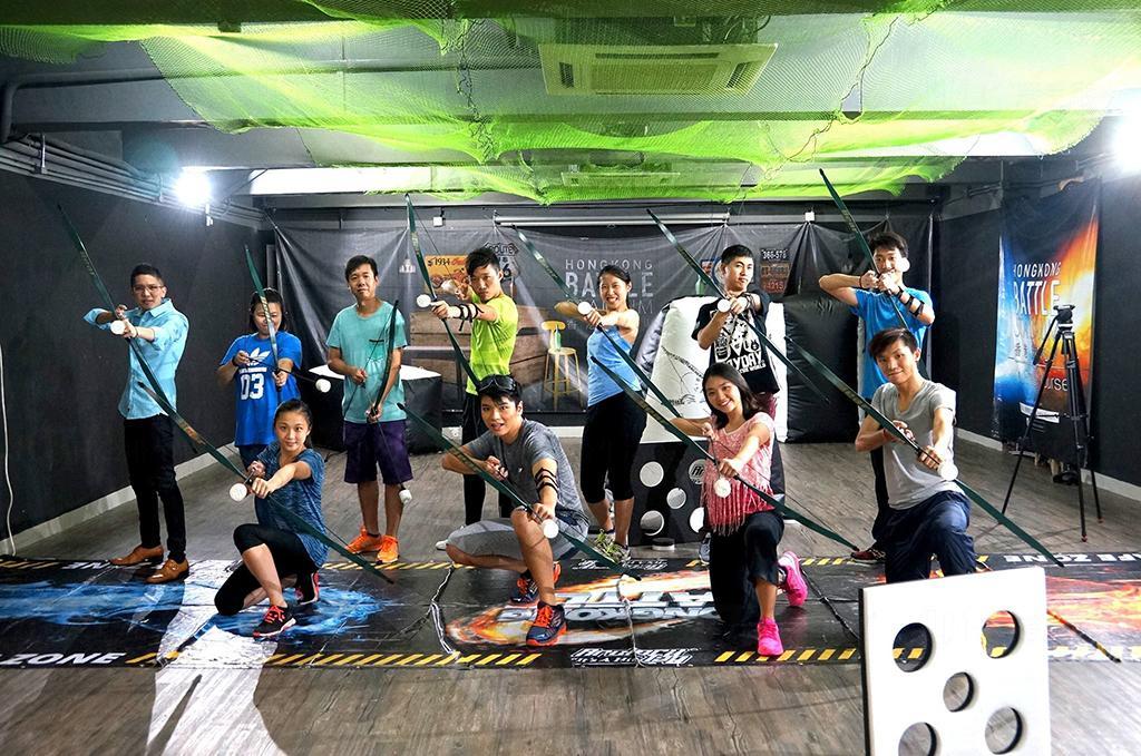 Battle Game運動日 免費試玩Archery Tag