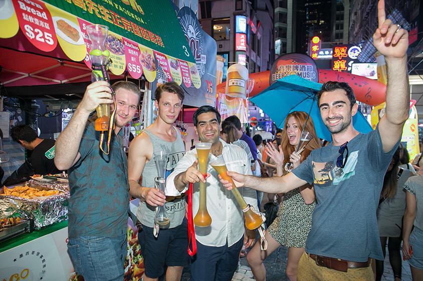 蘭桂坊音樂啤酒節 投入西部狂野派對
