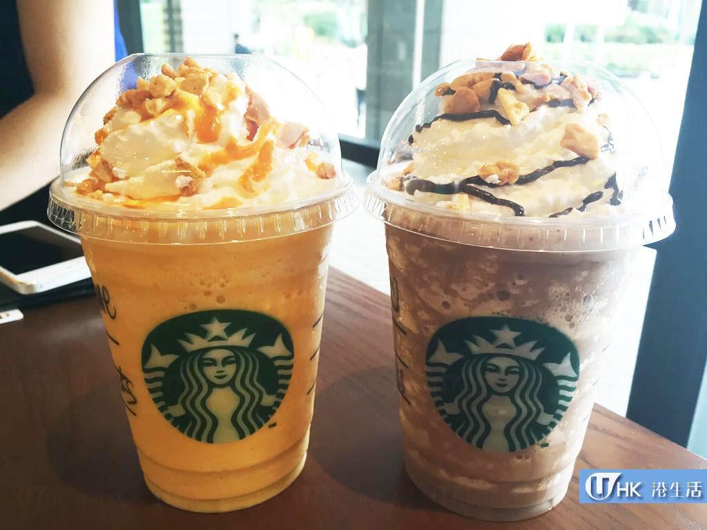 香脆冰涼之選!Starbucks夏日全新飲品登場