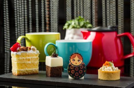 W Hong Kong x Kusmi Tea 推出俄式風格下午茶