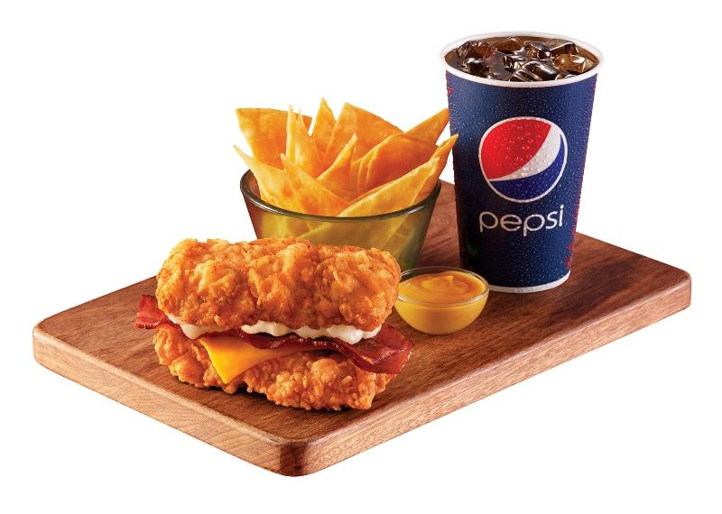 食肉獸至愛!KFC新出限定雙層雞扒軍艦