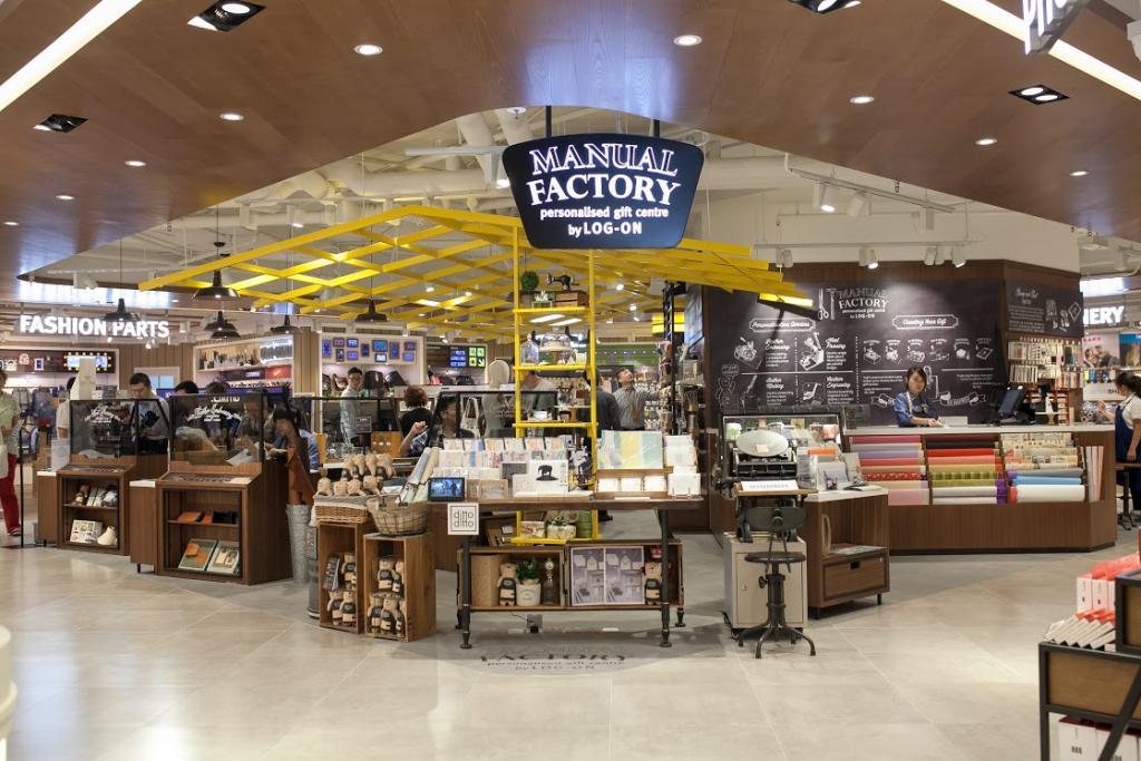 LOG-ON海港城新店 首設禮品專區MANUAL FACTORY