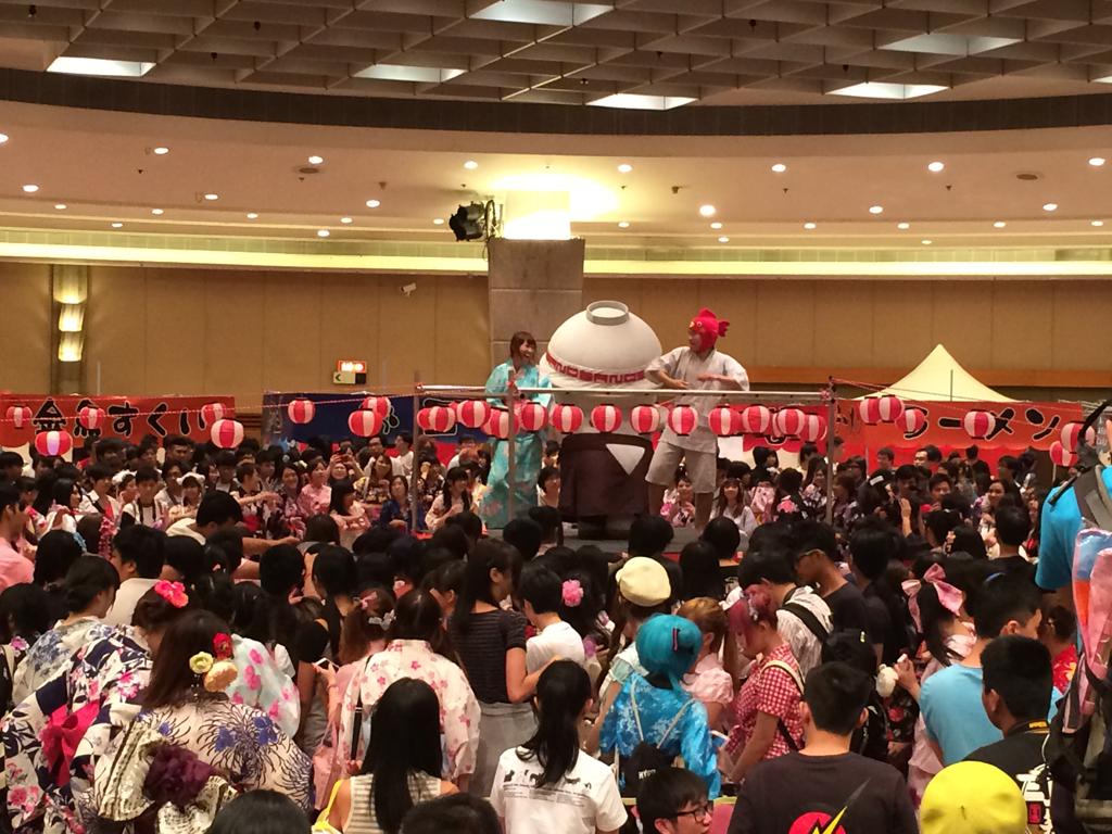 限定一日!全港最大型室內「夏祭面白祭」