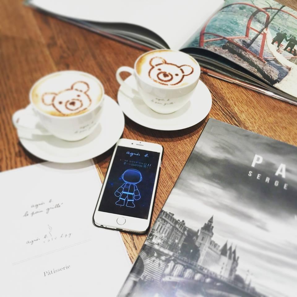 下載手機app獲贈agnès b. 買一送一咖啡優惠