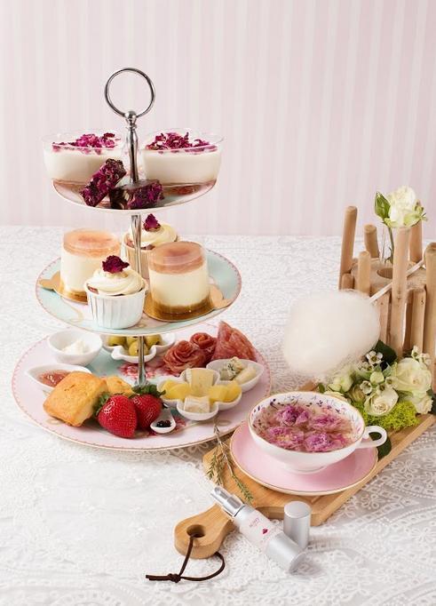 任食雪糕!DK Cuppa Tea玫瑰英式下午茶