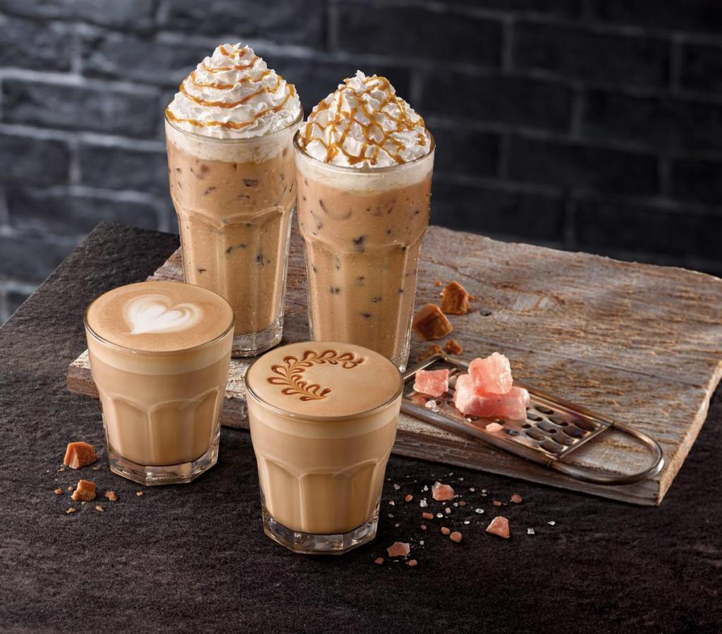 McCafé 新推出岩鹽焦糖咖啡系列