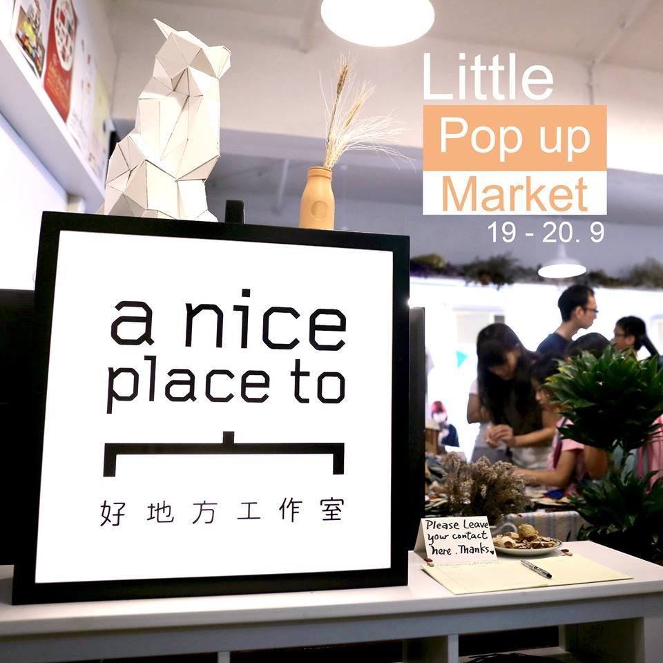 Little Pop-up Market @a nice place to