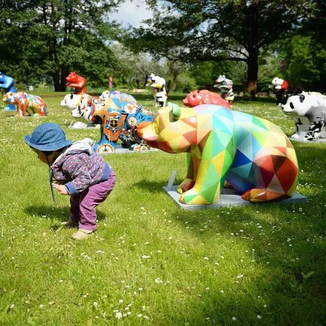 Heart Panda 大熊貓公共藝術世界巡迴展