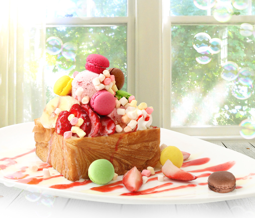 A-1 Bakery x Francfranc 粉色夢想馬卡龍