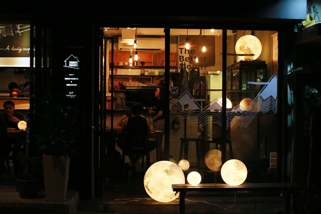 月亮燈主題!unun x Common Ground Pop-up Cafe
