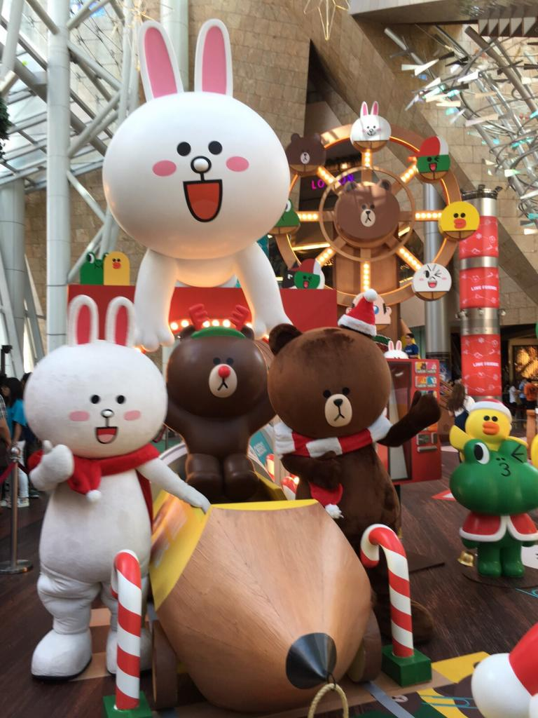 LINE Friends 聖誕開文具派對 Pop-up store正式開業!