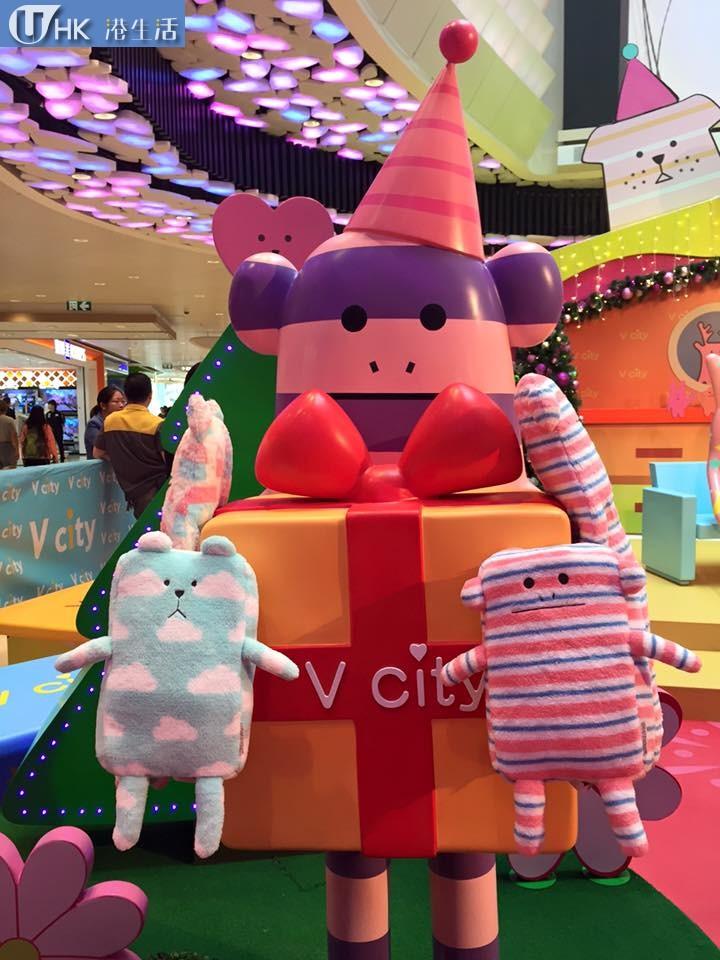 V city X Craftholic「奸夫」首個聖誕遊樂園