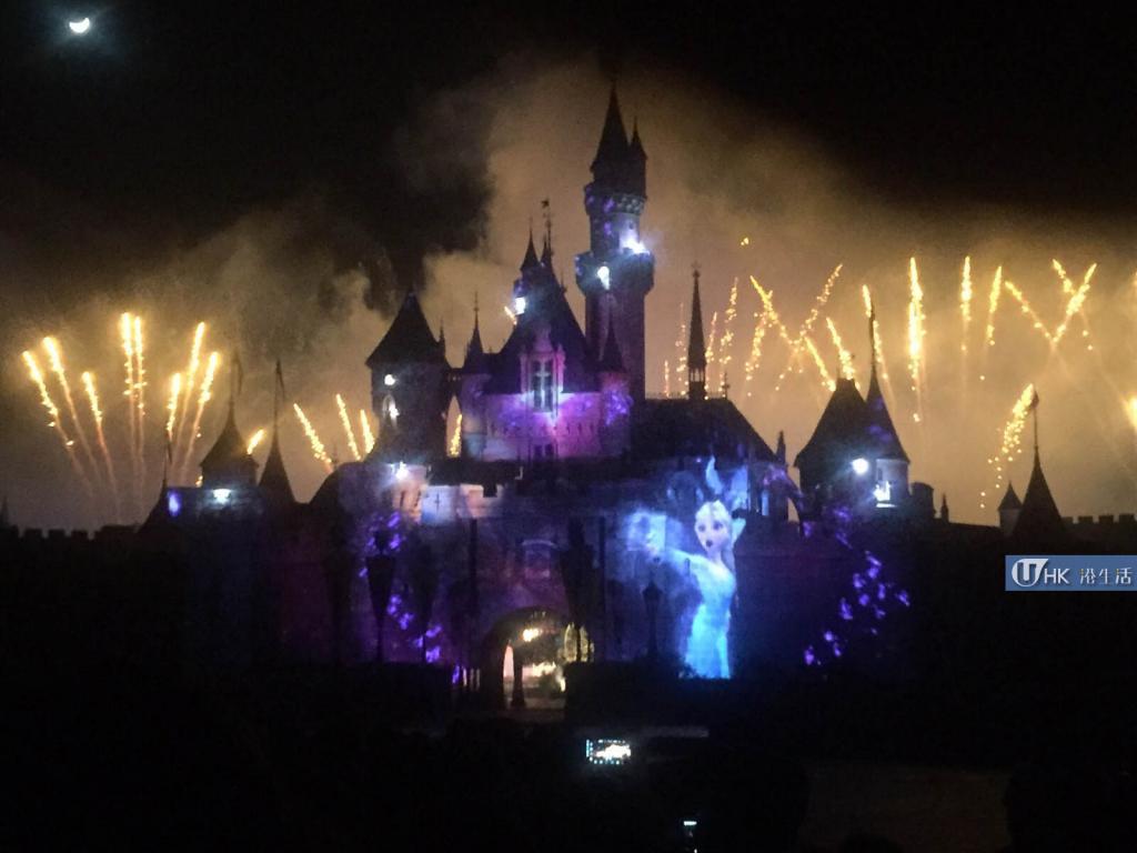 香港迪士尼樂園10周年 「A Happily Ever After Christmas」盛演